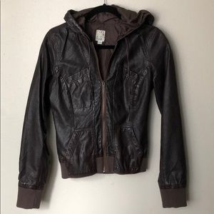 Roxy Faux Leather Jacket